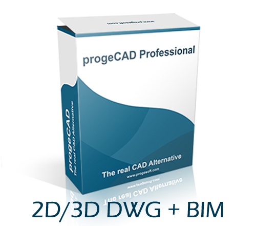 progeCAD 2020 DWG BIM SL