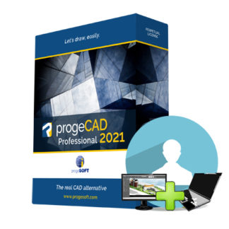 progeCAD SL - One user on two computers